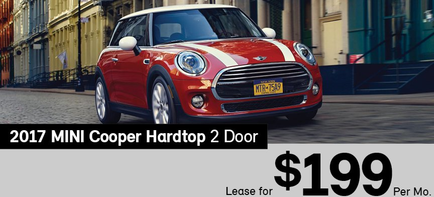 Mini Cooper Lease >> Lease The 2017 Mini Hardtop 2 Door For Only 199 Per Month At Mini