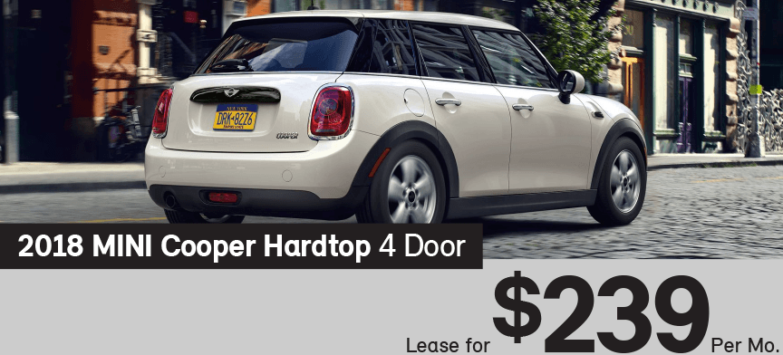 Mini Cooper Lease >> Lease A Mini Cooper Hardtop For Only 239 Per Month At Mini Of